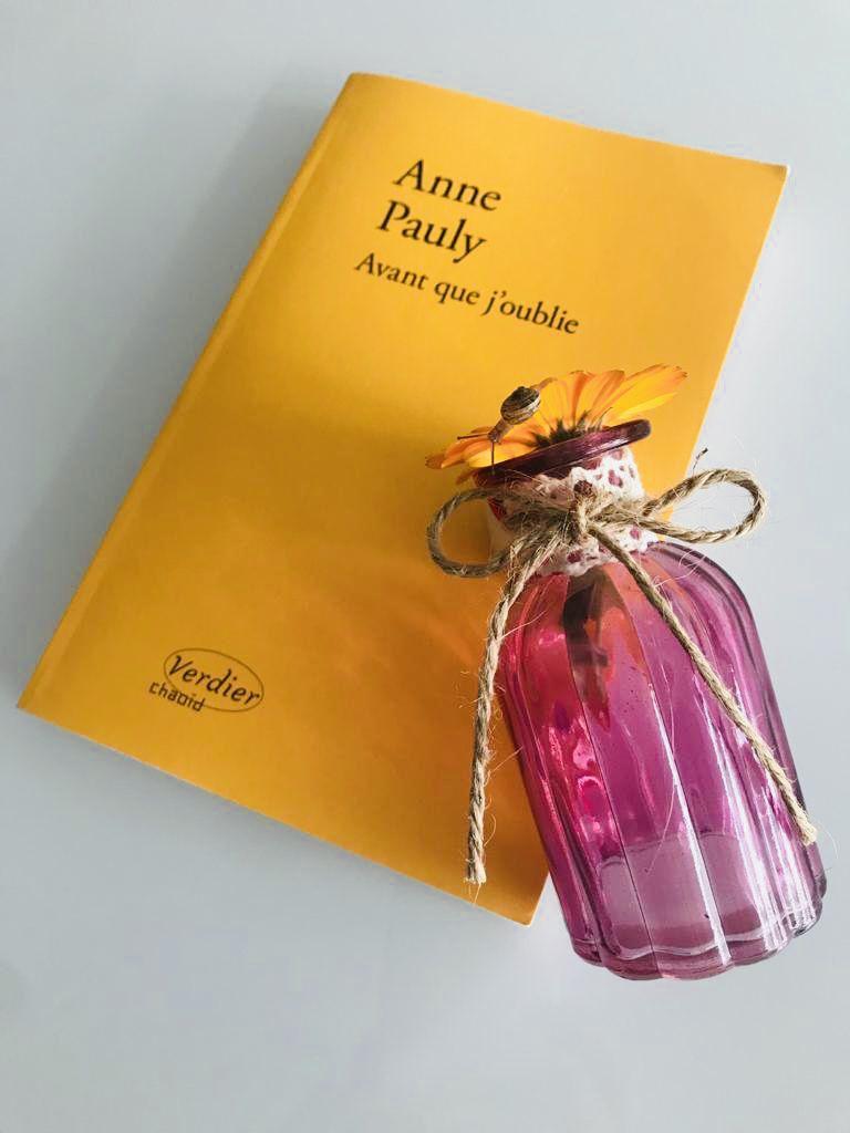 Anne Pauly Avant Que J'oublie : pauly, avant, j'oublie, Avant, J'oublie, PAULY, Livres