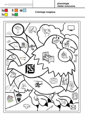 Coloriage Magique Grande Section Maternelle : coloriage, magique, grande, section, maternelle, Coloriage, Magique, école, Maternelle, Gellow