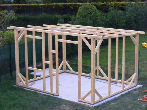 construction de mon abri de jardin l