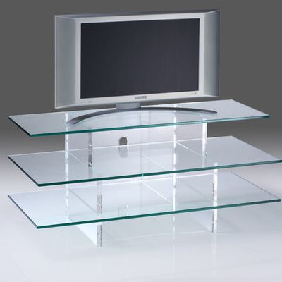 le meuble tv en verre les avantages