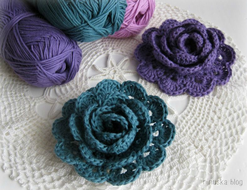 gratuits des fleurs au crochet