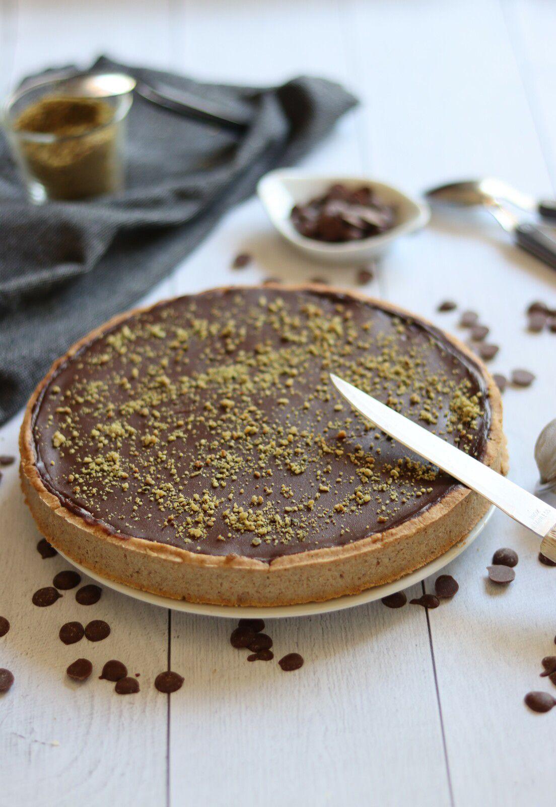Tarte Au Chocolat Sans Oeuf : tarte, chocolat, Tarte, Banane, Chocolat, {sans, Gluten,, Lait,, œufs}, Allergique, Gourmand