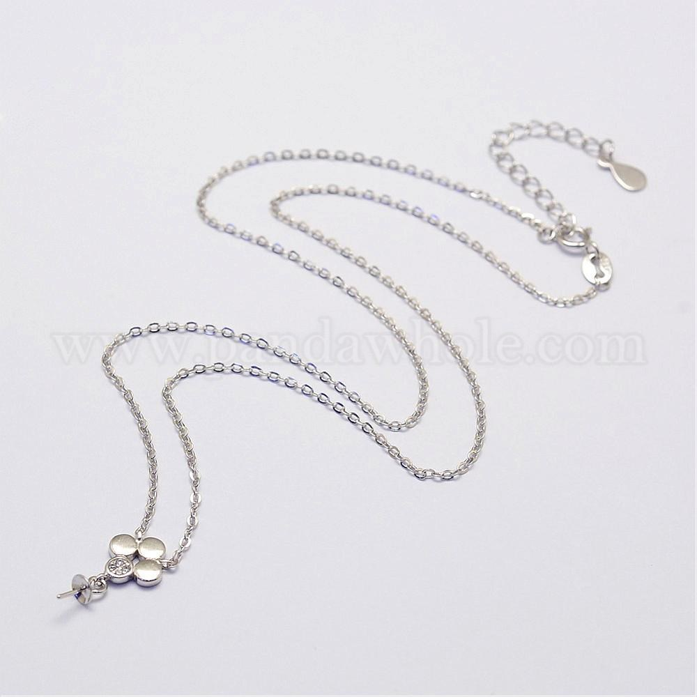 China Factory 925 Sterling Silver Necklace Makings, with