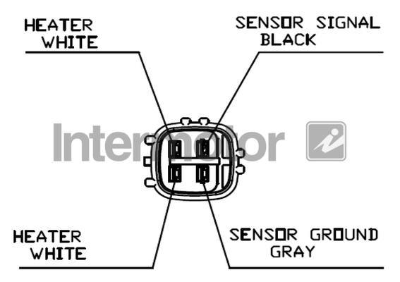 Lambda Sensor fits TOYOTA MR2 SW20 2.0 Pre Cat 91 to 99 3S