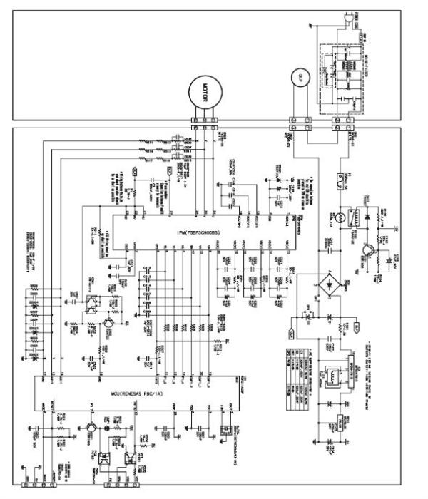 samsung refrigerator circuit diagram