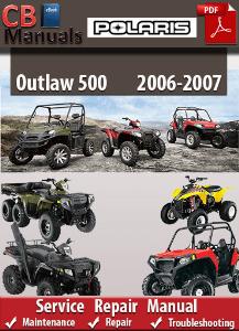 Polaris Outlaw 500 20062007 Service Manual Download