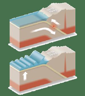 Tsunami Diagram | Natural Disasters: Hurricanes, Tsunamis