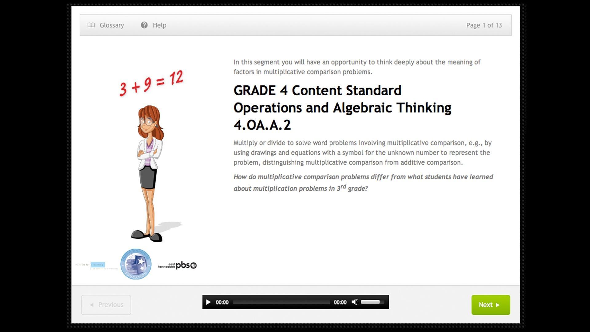 Operations And Algebraic Thinking Grade 4 4 Oa A 2