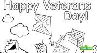 Veterans Day Coloring Page Printable | Sesame Street ...