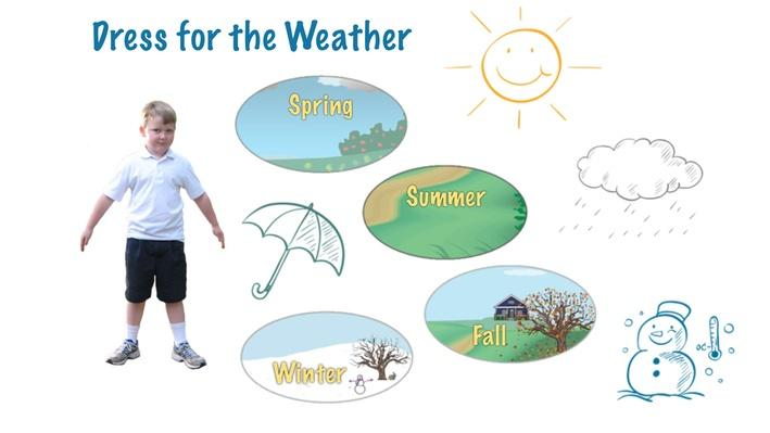 Dress for the Weather  Everyday Learning  Science