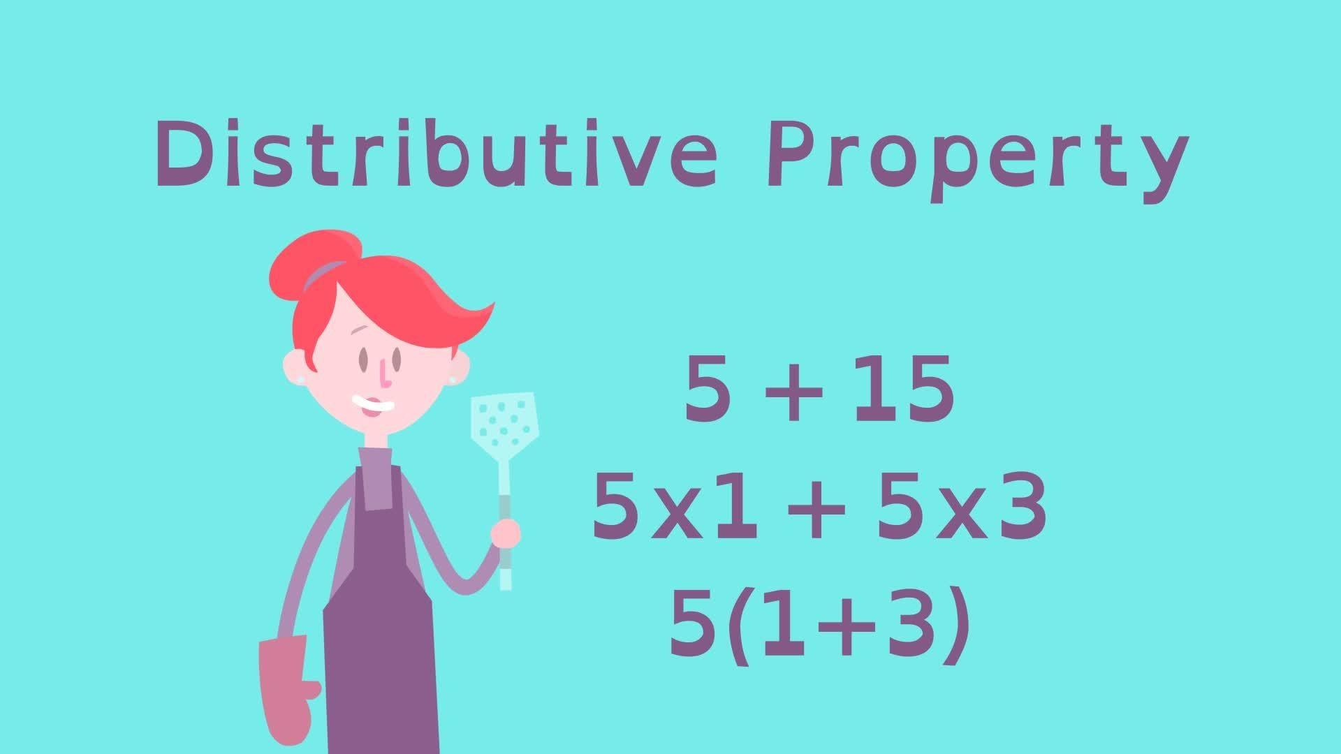 hight resolution of Equivalent Expressions with the Distributive Property   PBS LearningMedia