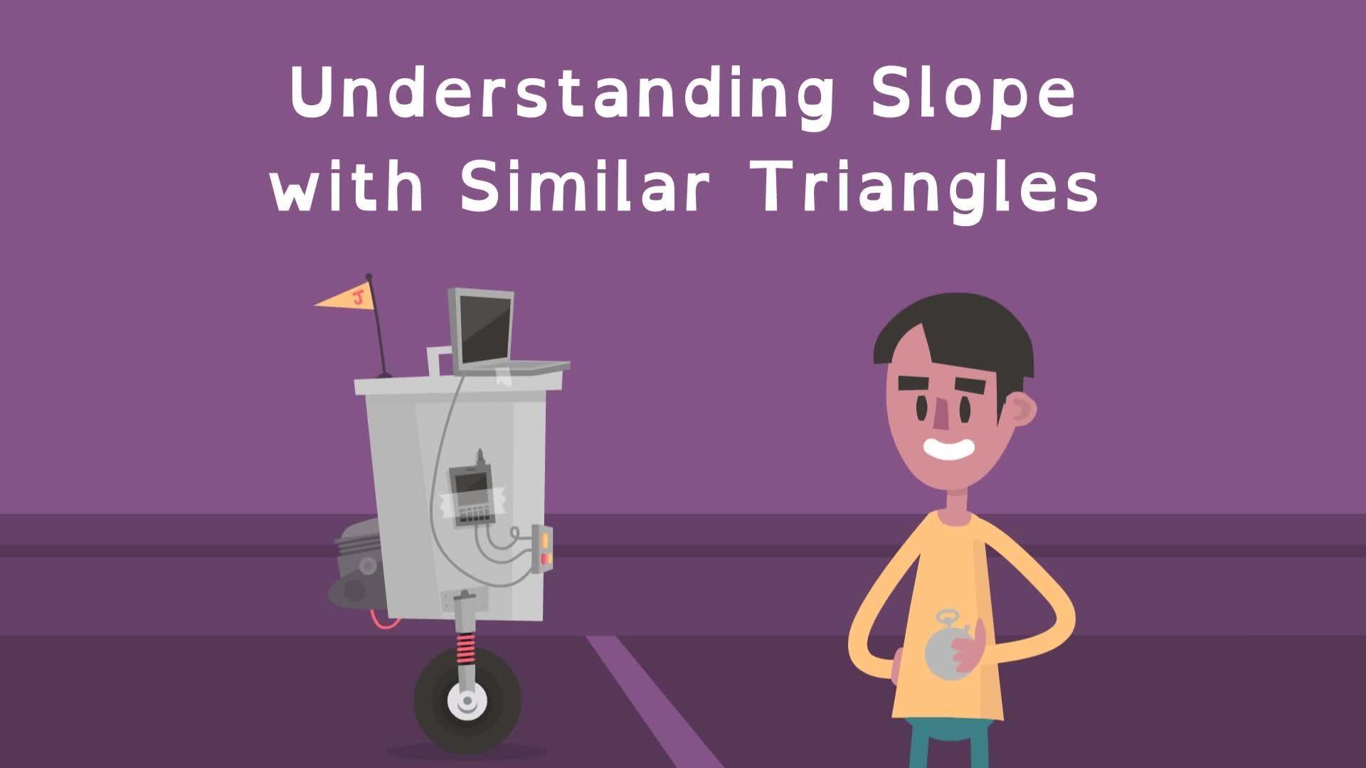 Understanding Slope With Similar Triangles