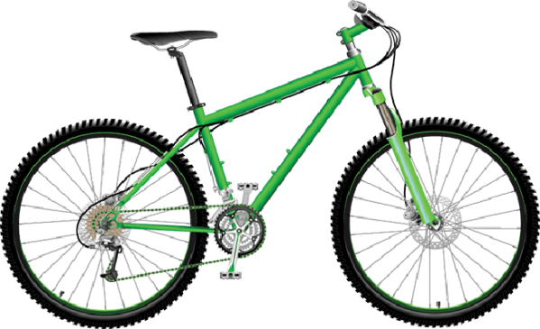 bikes and bicycles clipart