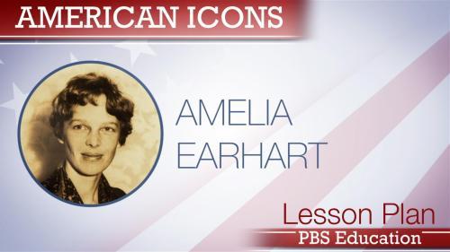 small resolution of Amelia Earhart   Aviator