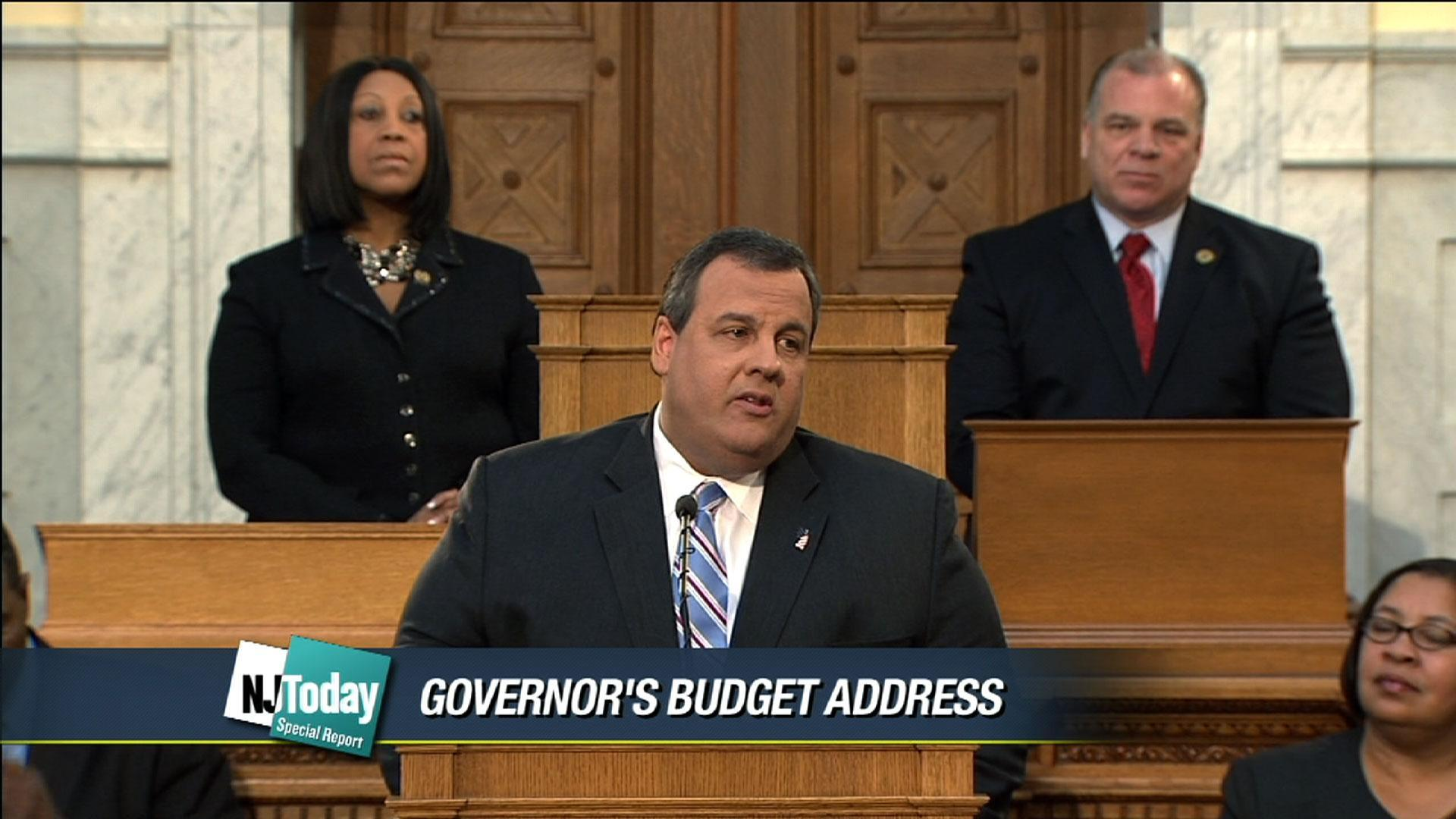 Chris Christie Resume Governor Christie Delivers 2013 Budget Address Njtv News