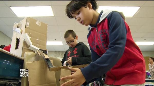 Video -school Stem Programs Inspire Kids