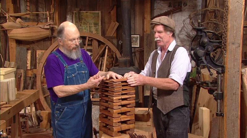 rocking horse chair desk malaysia bill anderson   featured guests the woodwright's shop with roy underhill pbs