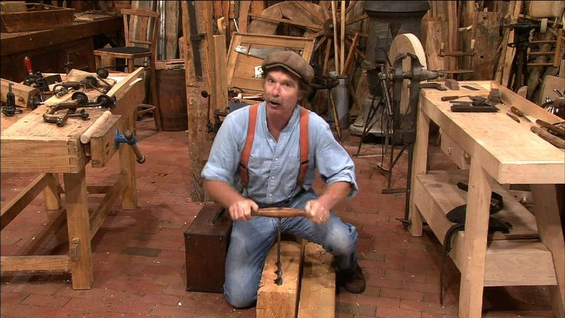 revolving chair in english overstock chaise lounge chairs tools | watch episodes by topic online woodwright's shop pbs