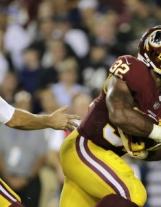Washington redskins quarterback kirk cousins left hands the ball off to running back samaje also fantasy football week rb rankings perine up carlos hyde rh pennlive
