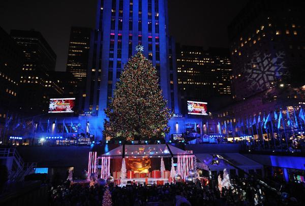 Christmas Tree Lighting Nyc 2017