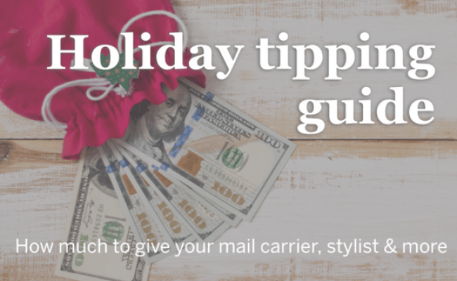 Holiday Tipping Guide How Much To Give Your Mail Carrier