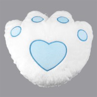 LED Light Pillow Colorful Flashing Bear Claw Paw Shape ...