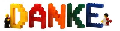 Kostenloses Foto Das LegoBrautpaar sagt Danke  pixeliode