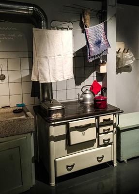 Kostenloses Foto: Küche 50er Jahre - pixelio.de