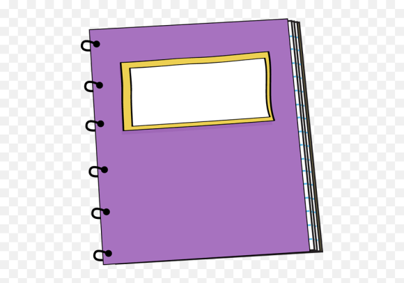Library Of School Notebook Clipart Png Files Purple Notebook Clipart Free Transparent Png Images Pngaaa Com