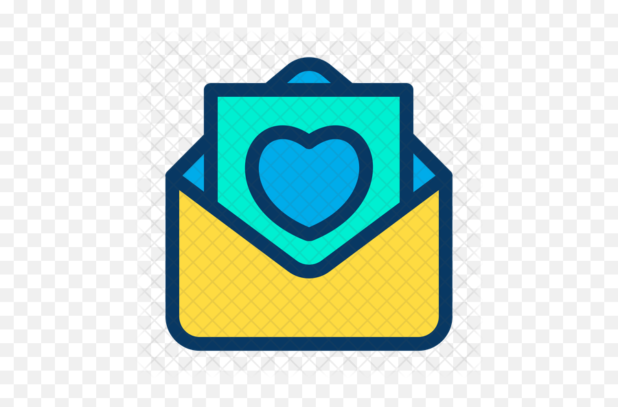 colored icon email pink png