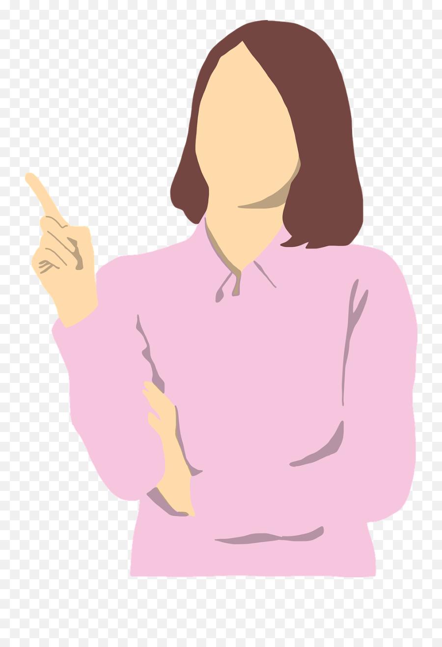 Orang Vector Png : orang, vector, Woman, Pointing, Vector, Graphic, Pixabay, Gambar, Orang, Menunjuk, Transparent, Images, Pngaaa.com