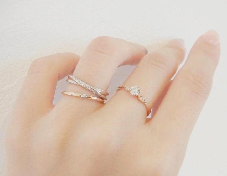 淨係得一卡鑽石太單調啦!日系小清新婚戒,配上誕生石,關節戒,小碎鑽指環更時尚〜   GirlStyle 女生日常