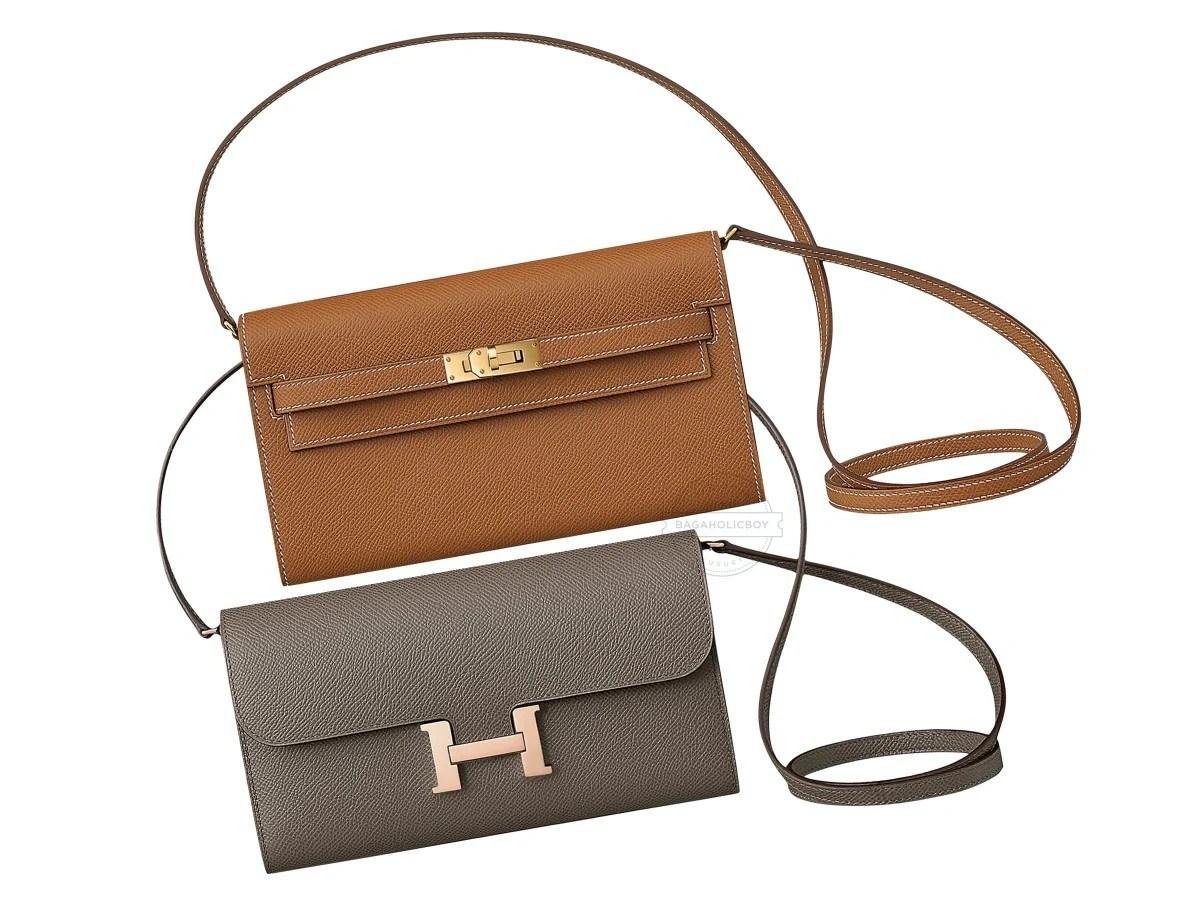 Hermès首個Wallet To Go夢幻登場 大象灰Constance美翻 | GirlStyle 女生日常