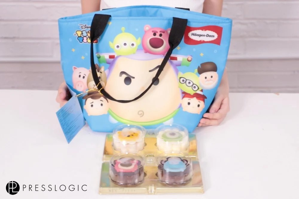 Häagen Dazs™聯同Tsum Tsum又發功了~超可愛3D卡通人物脆皮雪糕月餅!睇見都唔捨得食啊~   HolidaySmart 假期日常