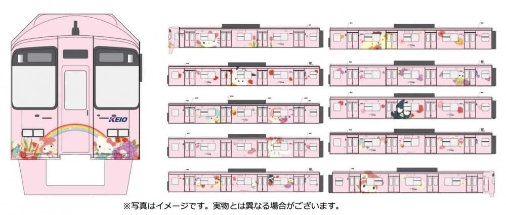 Sanrio fans好消息!日本京王電鐵推出長期運行SANRIO角色主題電車 11月1號有得搭喇! | HolidaySmart 假期日常