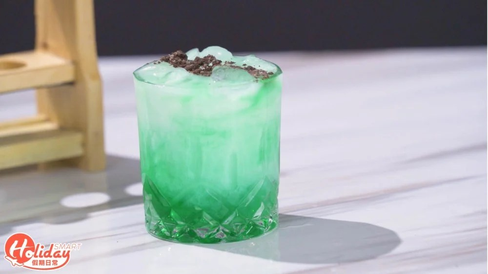 網店新推在家調製4款雞尾酒!必打卡Tiffany Blue薄荷朱古力+漸層藍綠色Cocktail | HolidaySmart 假期日常