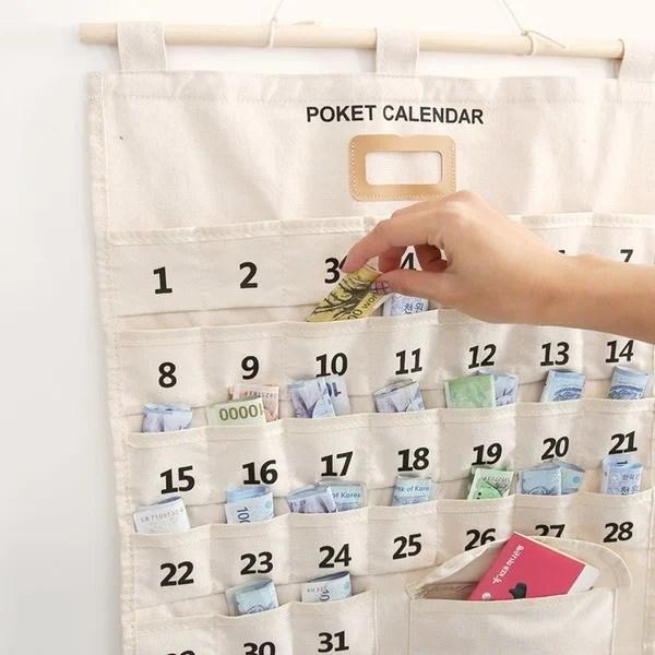 韓國【零用錢月曆】教你養成每天存錢 / 省錢的好習慣!別再當月光族啦~ | Kdaily 韓粉日常