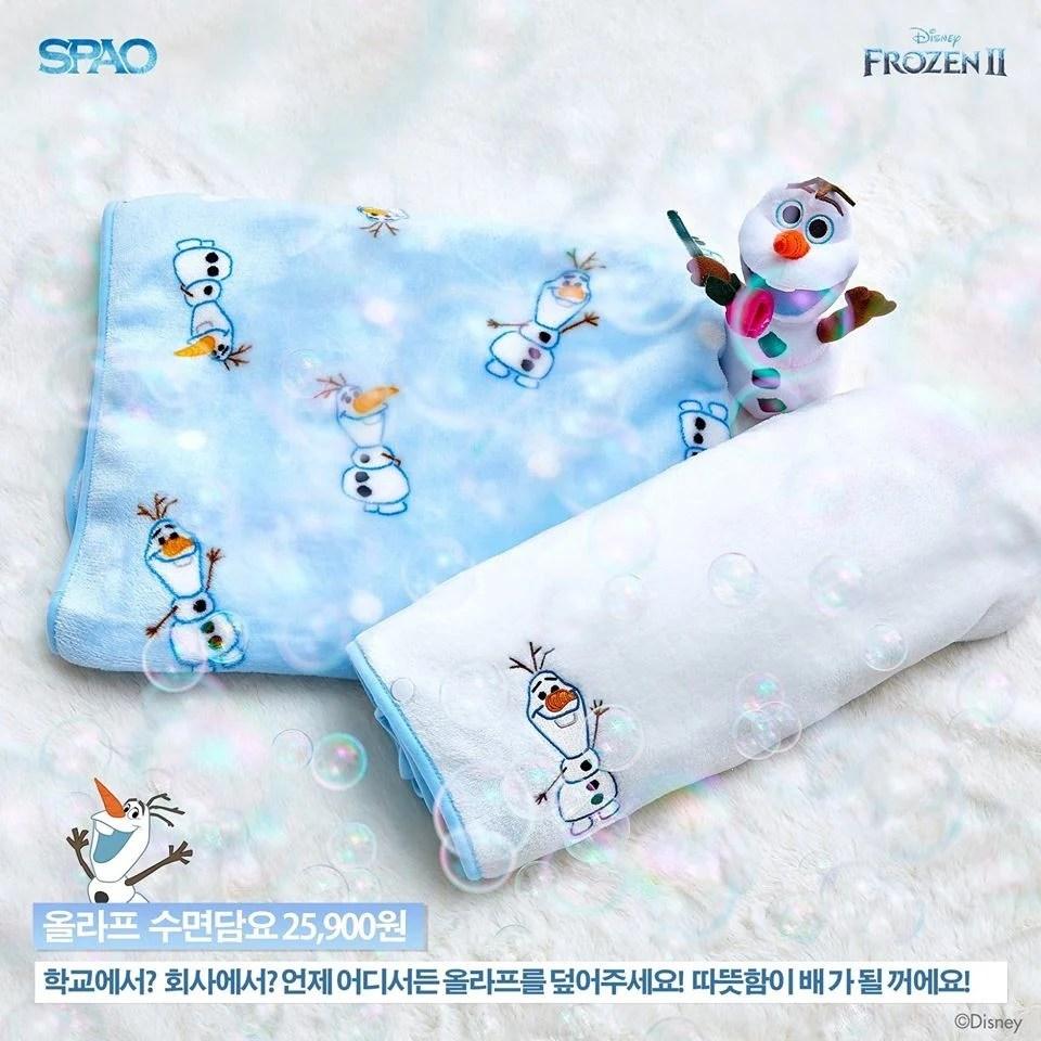 韓國SPAO與冰雪奇緣聯名!超萌的「雪寶睡衣」和「毛茸茸外套」絕對必買 | Kdaily 韓粉日常
