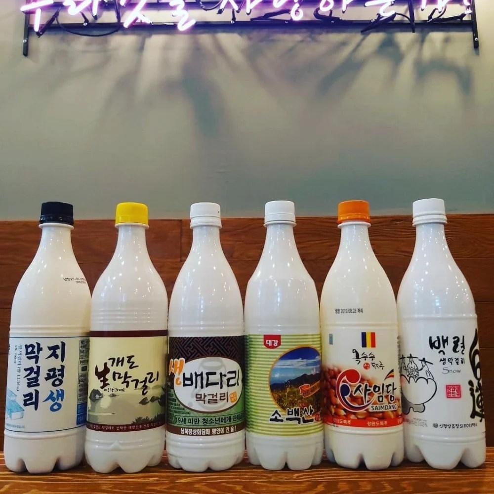 【弘大酒吧】韓妞超愛「彩虹馬格利」♥ 各種水果口味的韓國米酒 | Kdaily 韓粉日常