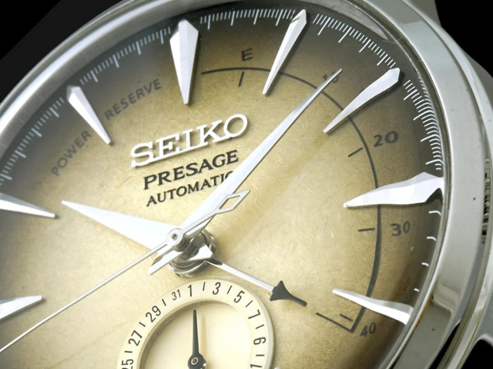 【Seiko Presage Cocktail「Irish Coffee」】「咖啡」與時分秒的交響樂!全新限量腕錶! | MENELECT