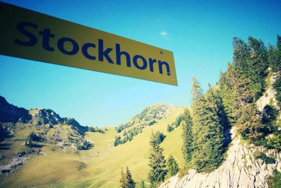 Bungee jumping stockhorn