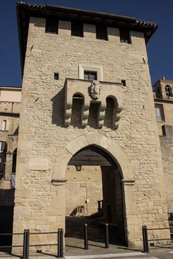 San Marino kapı