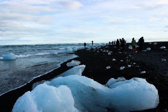 Jökulsarlon ice beach
