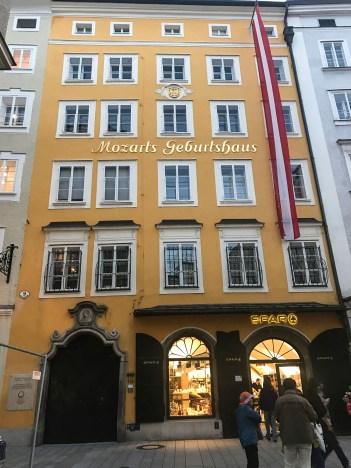 Mozart'ın doğduğu ev, Salzburg