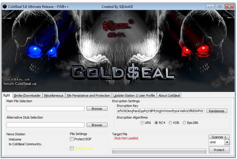ColdSeal 5.6 cracked 100% fud crypter