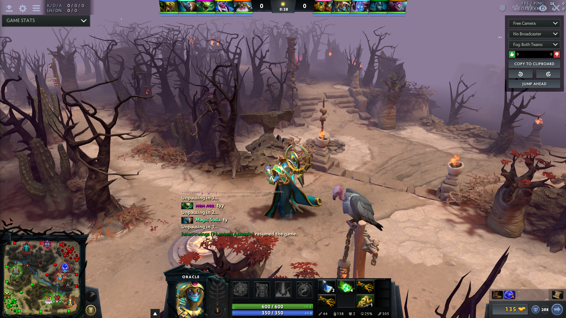 Large Post Of Bugs In 700 DotA2