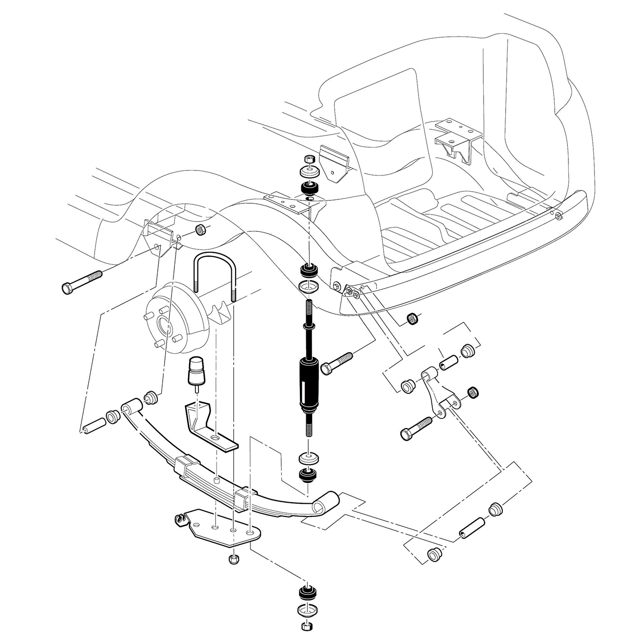 32 Club Car Front Suspension Diagram