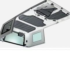 details about hard top headliner heat insulation sound deadener for 12 16 jeep wrangler 4 door [ 1100 x 1100 Pixel ]