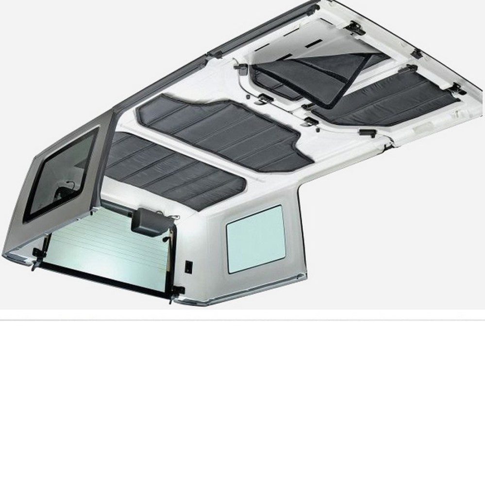 medium resolution of details about hard top headliner heat insulation sound deadener for 12 16 jeep wrangler 4 door