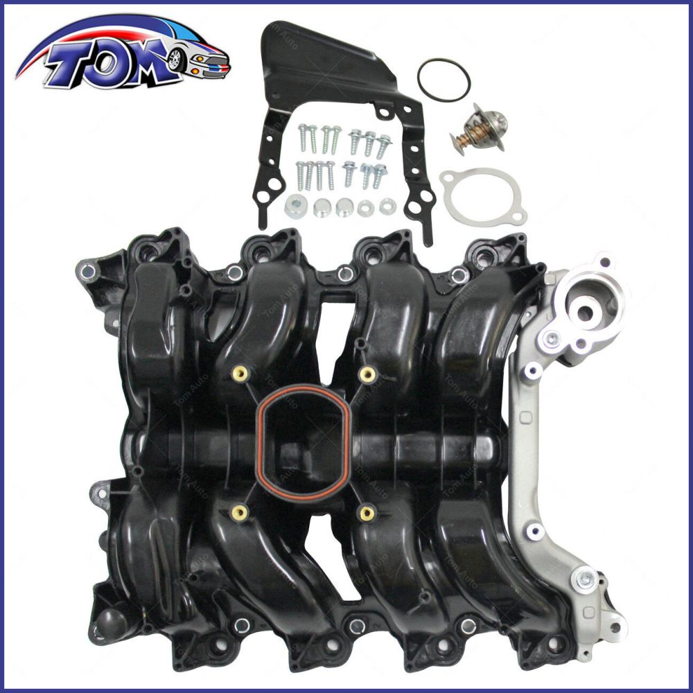 medium resolution of details about new intake manifold w thermostat gaskets kit for ford lincoln mercury 4 6l v8